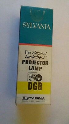 DGB projector lamp by Sylvania new old stock.