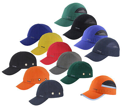 Titus® Bump Cap Safety Hard Hat Scalp Head Protection Mechanic Baseball