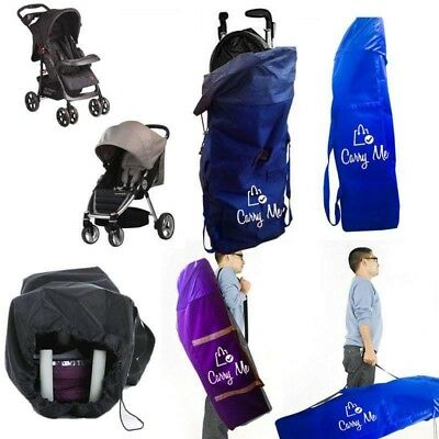 Carry Me Gate Check Stroller Car seat Protective Bag Heavy Duty  (Purple)