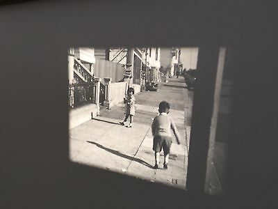 Antique 16 mm Film Black & White Home Movie - San Francisco - 1920's?