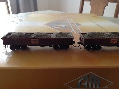 Complete NSWGR Ore Train Consist Ho Scale