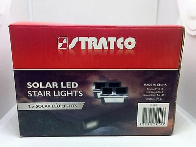 Stratco Solar Led Stair Lights