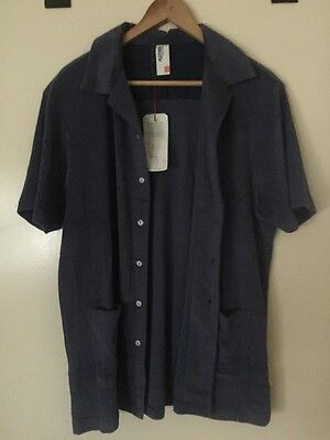 Ben Sherman Plectrum Men's Terry Cloth Bowling Shirt Festival XL