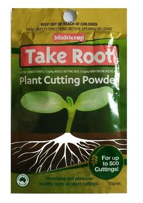 Take Root Plant Cutting Powder x 2 pkts - Great for Propagating