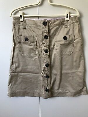 RB Sellars Skirt SiZe 10 Beige Khaki
