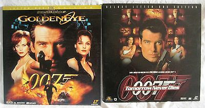 LASERDISCS 2 x James Bond Titles - Covers Good Discs are Good to VG