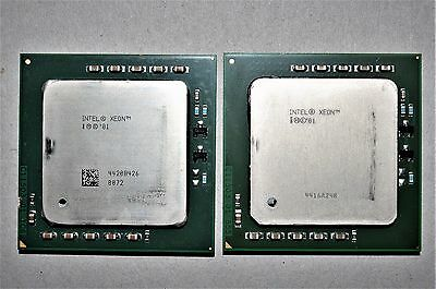 2 x INTEL Xeon '01 (4420B426 & 4416A248) CPU's ** Works well **