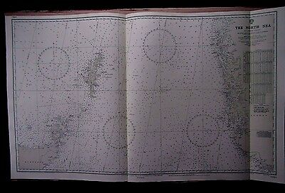 """1973 NORTH SEA - SCOTLAND ORKNEY SHETLANDS - Admiralty Map Chart 28"""" x 46"""" A70"""