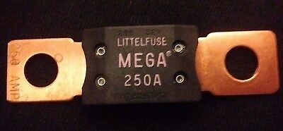 PRICE DROP!  Littelfuse Bolt Down Auto Fuse 250A Time Delay 32V 298 Series, MEGA