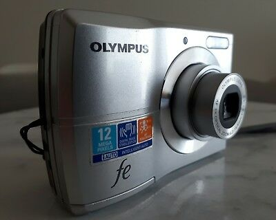 Olympus  FE-26 12.0 MP Digital Camera - Silver