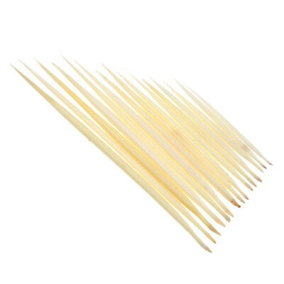 5 Pcs Porcupine Quills White Jewelry Hair Stick Craft Fishing Float Weaving Tool
