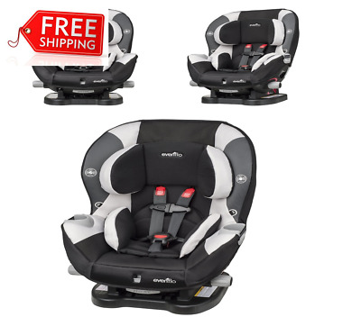 TOP Quality Evenflo Triumph LX Convertible Car Seat Charleston Rear Front Face