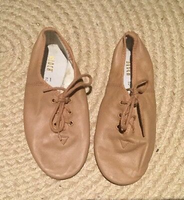 Bloch, Size 12, Tan, Lace Up Jazz Shoes