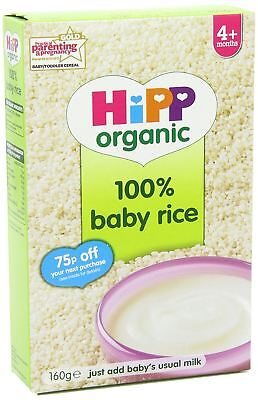 HiPP Organic Stage 1 From 4 Months Baby Rice 160 g