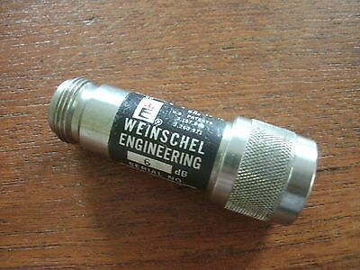 Weinschel Engineering Model 2 Attenuator 6dB Type N
