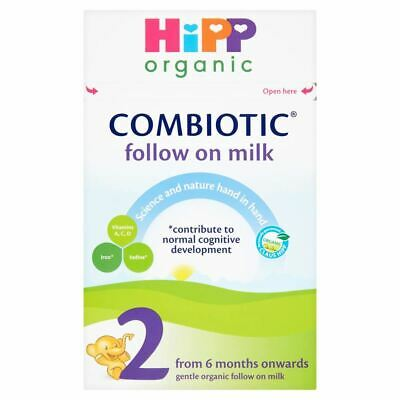 HiPP Organic Combiotic Follow on Milk From 6+ Months, 800g