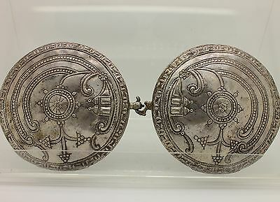 Antique Original Perfect Silver Anatolian Amazing Traditional Belt Buckle