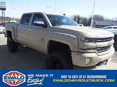 2017 Chevrolet Silverado 1500 LTZ Black Widow 2017 Chevrolet Silverado Black Widow! Rare Military Paint!
