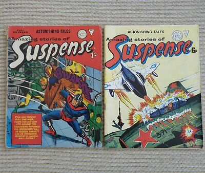 Astonishing Tales Amazing Stories of Suspense issues #81 #23