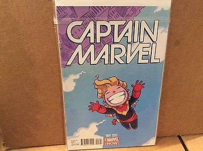 Captain Marvel #1 Young Variant