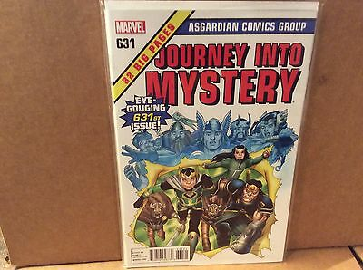 Journey Into Mystery #631 1:50 Variant Retailer Incentive