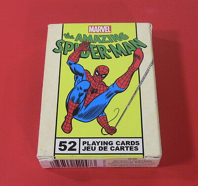 Marvel Spider-Man Playing Cards