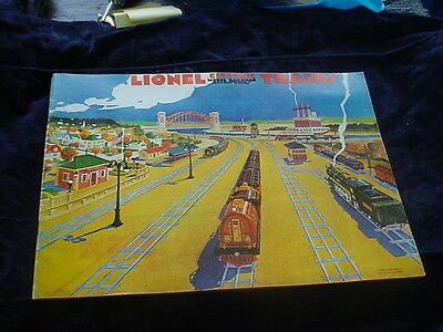 Lionel Toy Train CATALOG - 1930