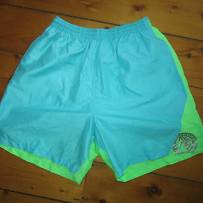 """vintage NWOT men Small 28-30"""" GORDON AND SMITH lined Surfer Swim Suit G&S Trunks"""