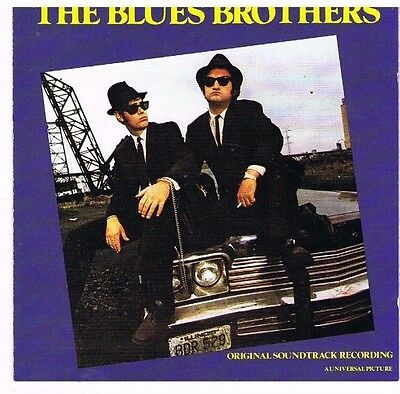 CD - BLUES BROTHERS - SAME (ORIGINAL SOUNDTRACK) - german Press