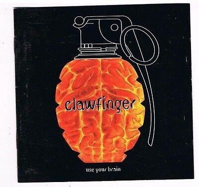 CD - CLAWFINGER - USE YOUR BRAIN - german Press