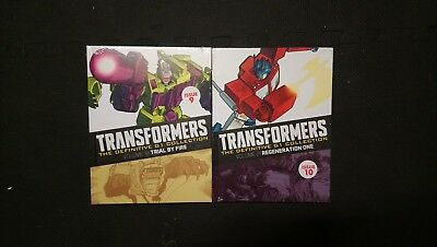 Transformers definitive G1 collection issues 9 & 10 Regeneration One
