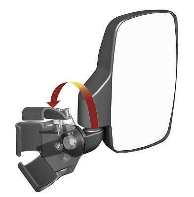 Seizmik Side View Mirrors with Pro-Fit Roll Cage (Pair) Polaris Clamp 18083