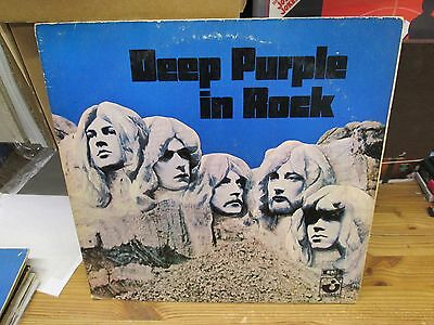 LP - DEEP PURPLE - IN ROCK - german Press 1c062-91442 - FOC