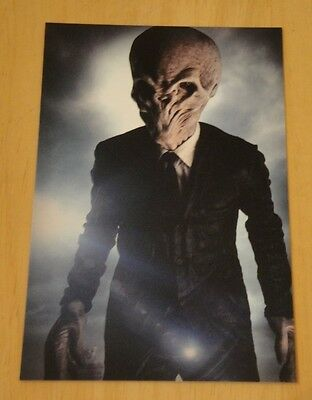 Doctor Who Printed Postcard ~ 'we Are The Silence. And Silence Will Fall.' ~ New