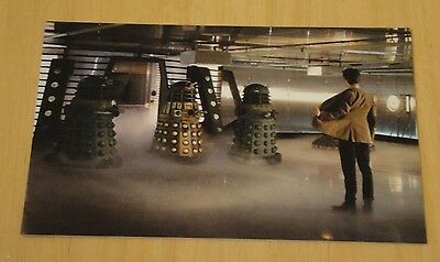 Doctor Who Printed Postcard ~ 'it's The Doctor, Exterminate!' - New