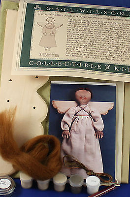 Gail Wilson Linsey-Woolsey Primitive Angel Pattern and Full Kit