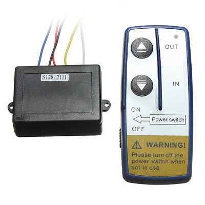 Wireless Winch Remote Controller 12 V Volt Recovery 4x4 ATV Hand Set Y5I4