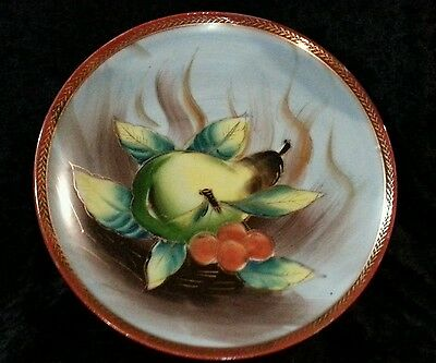 Wales Collectible plate made in Japan of Fruit