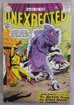Tales of the Unexpected #60 (1961),Space Ranger ,The Beasts From The Space Seeds