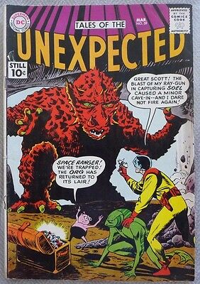Tales of the Unexpected #59 (1961) Space Ranger  RARE!