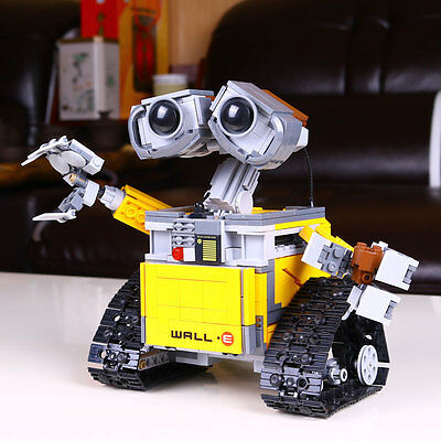 Ideas Wall-E (21303) * Idea Robot WALLE Building Set Kits * Compatible with LEGO