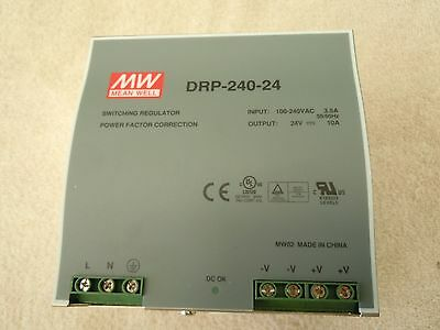 Mean Well [ Drp-240-24] Power Supply  Usa.