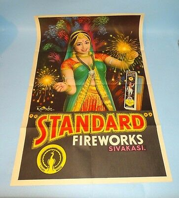 Indian Standard Fireworks Poster