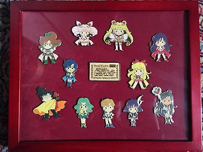 Sailor Moon Channel 10th Anniversary Pins Badge Collection Limited Japan