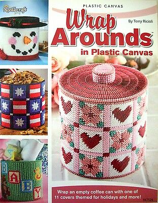 Needlecraft Shop  WRAP AROUNDS in plastic canvas - 11 themed covers by T Ricioli