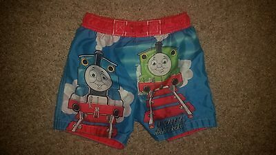 Thomas the train toddler boy bathing suit swim trunks 2T