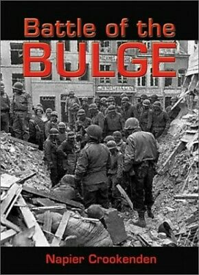 Battle of the Bulge, 1944 by Crookenden, Sir Napier Hardback Book The Cheap Fast