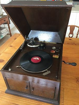Gramophone His Master's Voice Hmv Model 103 In Full Working Order