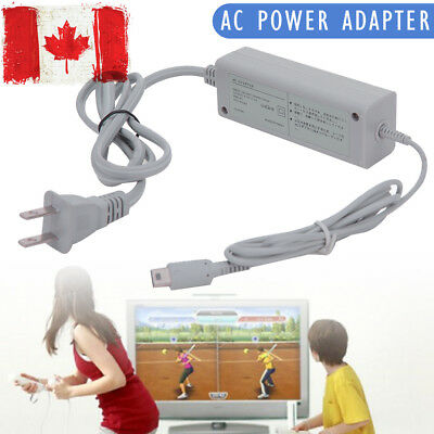 Fast Charging AC Charger Home Power Supply Wall Plug for Wii U Gamepad Control