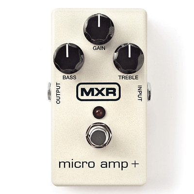 MXR M233 Micro Amp + Guitar Effects Pedal *NEW*